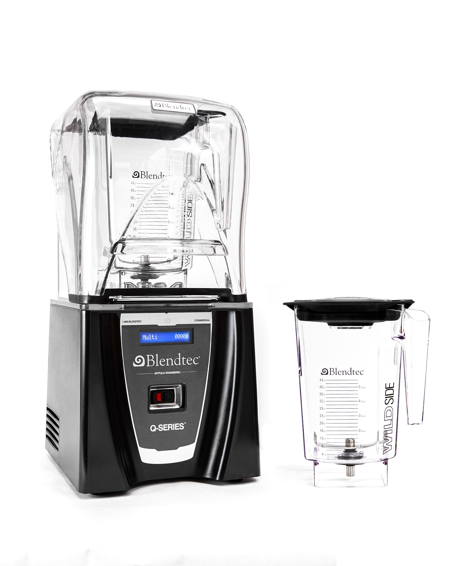 BLENDTEC Q SERIES Smoother Package With 2x 3Qt Jar