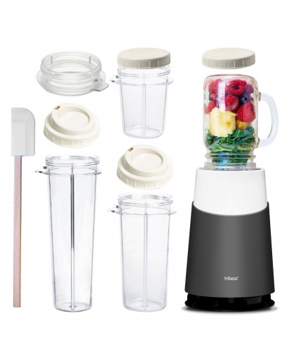 TRIBEST OSEBNI BLENDER II MASON JAR READY
