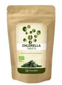 KLORELA V TABLETAH PLANETBIO  90 g (180 tablet)